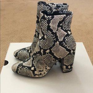 Aldo Shoes - Aldo Snake Skin boots (faux) - Aurella